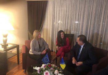 SAMIT U TIRANI: Poslije radne večere sa predsjednikom Albanije, Dodik sa Mogerinijevom o stanju u BiH