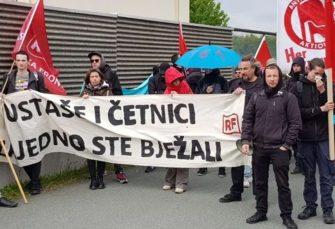 KOMEMORACIJA NA BLEIBURGU: Policija upozorava da sve snima, počeo i protest