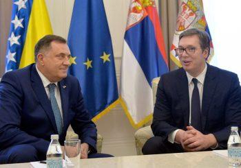 Milorad Dodik i Aleksandar Vučić persone non grata u Albaniji