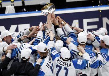 TREĆA TITULA: Hokejaši Finske šampioni svijeta nakon preokreta u meču sa Kanadom