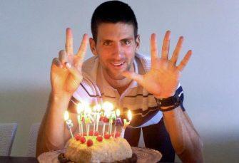 SLAVLJE: Najboljem teniseru planete Novaku Đokoviću 32. rođendan