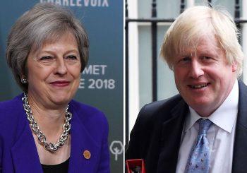 KONKURENT: Boris Džonson potvrdio da želi funkciju britanskog premijera kada je Tereza Mej napusti