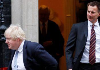 SLIJEDI FINALE: Boris Džonson i Džeremi Hant jedini preostali kandidati za lidera Konzervativne partije