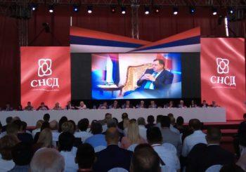 JEDNOGLASNO: Milorad Dodik izabran za predsjednika SNSD-a