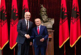 """ALBANIJA: Premijer Rama pokrenuo postupak za opoziv predsjednika Mete, nazvao ga """"ludim"""""""