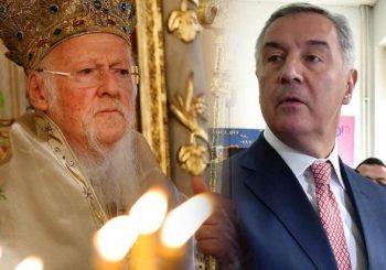 VARTOLOMEJ PISAO ĐUKANOVIĆU: Vaseljenska patrijaršija priznaje samo Amfilohija, Miraš ne pripada pravoslavlju