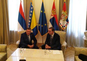 O POSLJEDICAMA: Hitan sastanak Vučića i Dodika povodom Haradinajeve ostavke