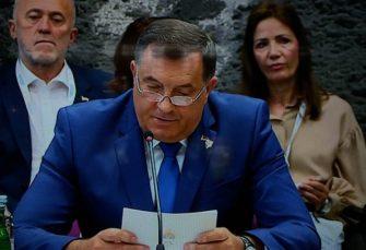DODIK: Haradinajeva ostavka liči na farsu, moguć dodatni pritisak međunarodne zajednice na Vučića
