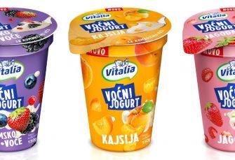 SAVRŠENO VOĆNO OSVJEŽENJE Vitalia voćni jogurti u tri neodoljiva okusa