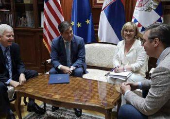 SASTANAK SA VUČIĆEM: Američki ambasadori u Sarajevu i Beogradu kod predsjednika Srbije