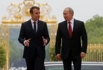 PUTIN U FRANCUSKOJ: Sa Makronom o ključnim globalnim pitanjima