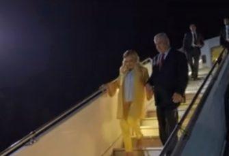 ŠOKIRALA DOMAĆINE: Supruga izraelskog premijera na početku posjete Ukrajini bacila hljeb i so na zemlju