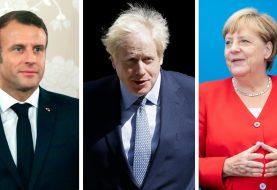 """""""OFANZIVA ŠARMOM"""": Boris Džonson zatražio od Makrona i Merkelove nove pregovore o Bregzitu"""