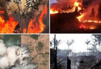 BRAZIL: Amazonija u plamenu, predsjednik Bolsonaro poručuje kritičarima da se ne miješaju