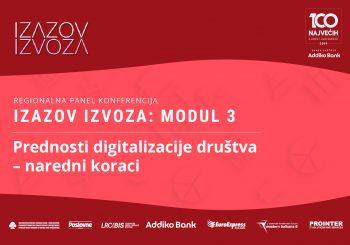 """KONFERENCIJA """"IZAZOV IZVOZA"""": Koje su to prednosti digitalizacije društva i naredni koraci"""