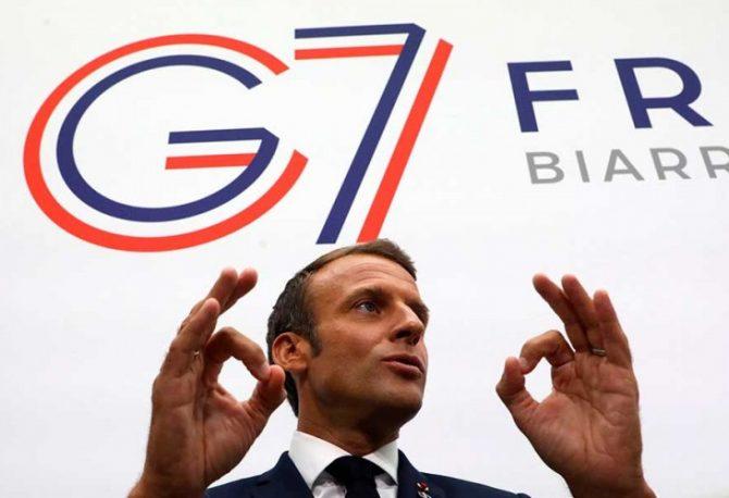 Makron će prenijeti poruku Iranu u ime zemalja G7?