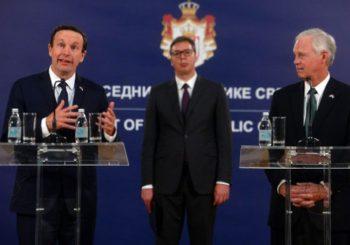 VUČIĆ SA SENATORIMA IZ SAD: Dogovor Beograd - Priština podrazumijeva da obje strane podjednako izgube i dobiju