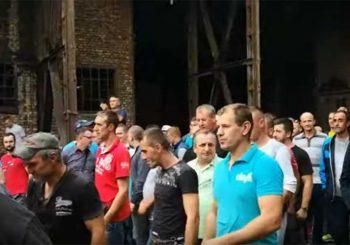 OBEĆANE IM PLATE: Zenički rudari prekinuli štrajk glađu i napustili jamu