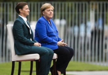 SUSRET BRNABIĆ - MERKEL: Njemačka sa Francuskom traži novi dijalog Beograda i Prištine