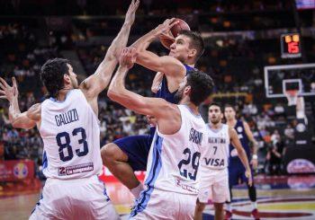 HLADAN TUŠ: Srbija izgubila od Argentine u četvrtfinalu SP, boriće se za plasman od petog do osmog mjesta