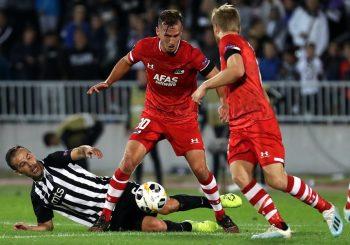 LIGA EVROPE: Partizan remizirao sa AZ Alkmarom, bili na pragu pobjede sa igračem više