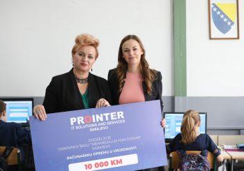 Prointerov poklon za školu u Sarajevu