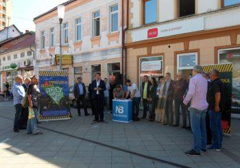SENAD ŠEPIĆ U NOVOM GRADU: Pokrenuo peticiju protiv odlaganja radioaktivnog otpada u Trgovskoj gori