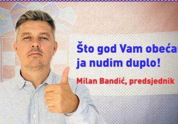 """""""JA SAM ISUS KORUPCIJE"""": Režiser promijenio ime u Milan Bandić, kandidovaće se za predsjednika Hrvatske"""