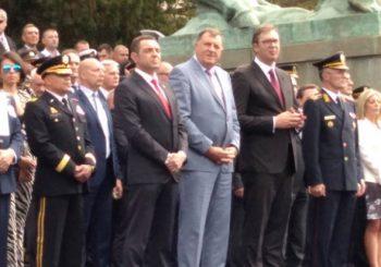 NA SVEČANOSTI DODIK I VUČIĆ: Promovisani oficiri Vojske Srbije