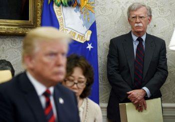 RAZLAZ: Donald Tramp smijenio Džona Boltona sa funkcije savjetnika za nacionalnu bezbjednost