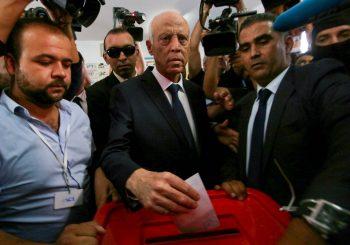 TUNIS: Kais Saied izabran za novog predsjednika, tajkun poražen