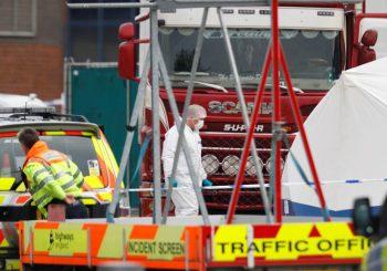 LONDON: Svih 39 žrtava pronađenih u kamionu državljani Kine
