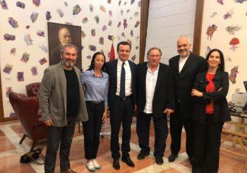 RAMA I KURTI SA DEPARDJEOM: Albanci snimaju film o Miloševiću