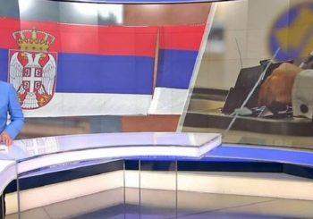 HRT izbore na Kosovu i Metohiji najavio srpskom zastavom