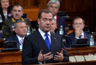 MEDVEDEV: Želimo da razvijamo saradnju sa svim balkanskim državama