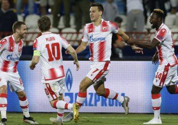 PRVA POBJEDA U LŠ: Zvezda savladala Olimpijakos, nakon primljenog gola uslijedio veliki preokret