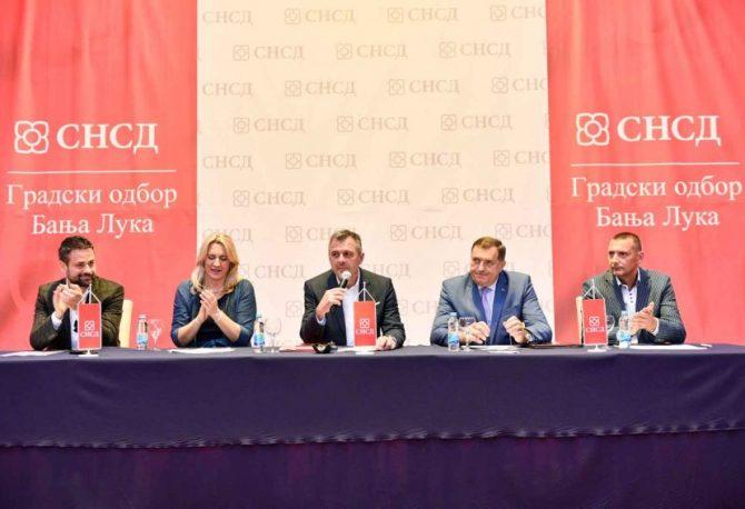 SJEDNICA GO SNSD-a: Dodik potvrdio da će Radojičić biti kandidat za gradonačelnika Banjaluke