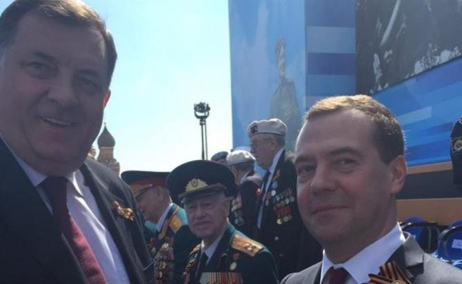 Sastanak Dodika i Medvedeva u Beogradu