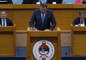 DODIK: Posebna sjednica NSRS u funkciji odbrane Srpske