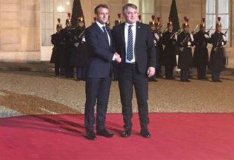 """""""BUKVICA"""" NA CRVENOM TEPIHU: Komšić dijelio lekcije Makronu kako treba da govori o BiH"""