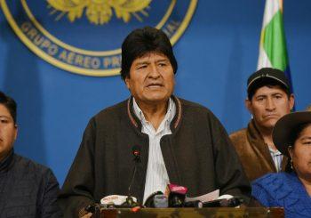 POD PRITISKOM DEMONSTRANATA I VOJSKE: Predsjednik Bolivije Evo Morales podnio ostavku