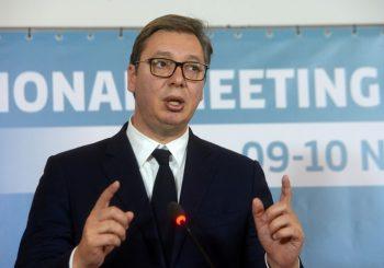 Aleksandar Vučić primljen na VMA