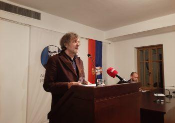 """ANDRIĆGRAD: Kusturica održao predavanje """"Peter Handke - apostol istine"""""""
