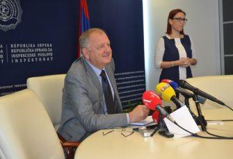 DRAGUTIN ŠKREBIĆ, ŠEF INSPEKTORATA RS: Dok sam na ovoj funkciji, neće biti firmi pod zaštitom