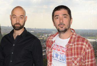 BURNO U NEVESINJU: Beogradski glumci Vojin Ćetković i Dejan Lutkić u središtu skandala
