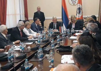 Sjednica Senata Srpske, prisustvuju Cvijanovićeva i Dodik