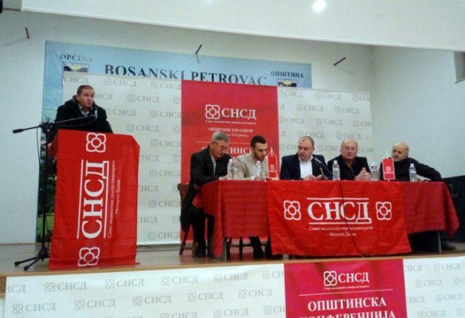 Nemanja Davidović novi predsjednik Opštinskog odbora SNSD-a Bosanski Petrovac