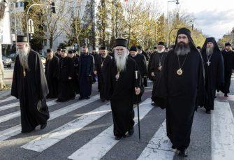 SASTANAK U CETINJU: Mitropolit Amfilohije miri posvađane lidere opozicionih stranaka u Crnoj Gori