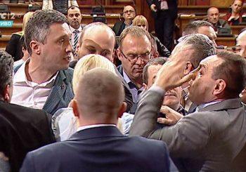 OPŠTI METEŽ: Obračun Boška Obradovića (Dveri) i Aleksandra Martinovića (SNS) u Skupštini Srbije