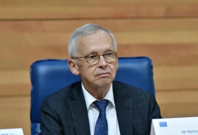 NEGATIVNI TONOVI: Rajnhard Pribe predstavio Evropskoj komisiji izvještaj o vladavini prava u BiH